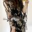 Lady Daria Beachy Blossom Print Chiffon Mini Dress L197-65C11 thumbnail 6