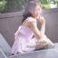 เดรสสีทูโทนสวยหวาน อกแต่งหัวใจสกรีนลาย unicorn thumbnail 9