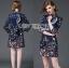 Valentino Little Star Printed Mini Shirt Dress L214-79C01 thumbnail 1