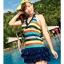 SM-V1-088 ชุดว่ายน้ำแฟชั่น คนอ้วน เด็ก ดารา thumbnail 2