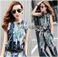 Lady Edith Tropical Printed Sleeveless Top and Pants Set L273-6918 thumbnail 5