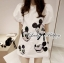 Lady Mickey Playful Casual White Dress L163-65C09 thumbnail 2