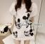 Lady Mickey Playful Casual White Dress L163-65C09 thumbnail 2