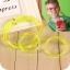 Z053 แว่นตาหลอดดูดน้ำ สุดฮิต ใส่แล้วดูดน้ำ เท่ฝุดๆ - สีเหลือง thumbnail 1