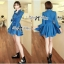 DR-LR-154 Lady Sarah Smart Casual Feminine Denim Shirt Dress thumbnail 14