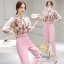 Daisy chiffon flower with pink pants and belt thumbnail 1