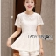 Lady Laurel Classic Sweet Lace Peplum Top and Short Ensemble Set L250-75C14 thumbnail 13