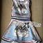 Lady Mary Royal Haute Couture Print Dress thumbnail 7