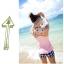 SM-V1-229 ชุดว่ายน้ำแฟชั่น คนอ้วน เด็ก ดารา thumbnail 2