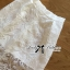 Lady Rachel White Chiffon Top and Embroidered Organza Lace Set L158-79B05 thumbnail 7