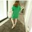 เดรสผ้าป่านคอตตอนลินินแต่งขอบปลายผู้สีชมพูแมตช์กันกับตัวเสื้อ thumbnail 5