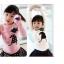 เสื้อแขนยาวเด็ก ลายเด็กผู้หญิงติดโบว์ thumbnail 1