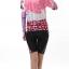 ชุดปั่นจักรยานผู้หญิง สีชมพู แขนสั้น thumbnail 3