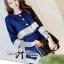 DS-PP-048 Lady Gisele Chic Brocade Jacket and Shorts Set thumbnail 5