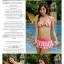SM-V1-211 ชุดว่ายน้ำแฟชั่น คนอ้วน เด็ก ดารา thumbnail 3
