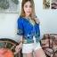 เสื้อครอปน่ารักงานจะงโก้สไตส์สาวโมฮีเมี้ยนสี thumbnail 9