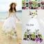 Maxi Dress เดรสดอกไม้สีสันสดใส thumbnail 1