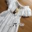 Lady Chloe Feminine Off-Shoulder Cotton and Lace Dress L188-75C08 thumbnail 14