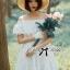 Lady Chloe Feminine Off-Shoulder Cotton and Lace Dress L188-75C08 thumbnail 11