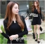 DR-LR-250 Lady Lisa Formal Chic Evening-wear Knit Dress thumbnail 2
