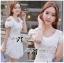 DR-LR-071 Lady Charlotte Gorgeous Little White Lace Dress thumbnail 10