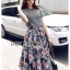 Lady Liz Lace Jumper and Floral Printed Midi Skirt Set L200-89C11 thumbnail 8