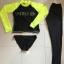 SM-V1-477 ชุดว่ายน้ำแขนยาว ชุดว่ายน้ำขายาว พื้นสีดำแขนเทียวสะท้อนแสงสวยๆ thumbnail 2
