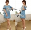 DR-LR-282 Lady Rachel Vintage Cut-Out Ruffle Shoulder Embroidered Dress thumbnail 2