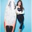 SM-V1-604 ชุดว่ายน้ำแขนยาว ขายาว5ส่วน เซ็ต 4 ชิ้น เสื้อแขนยาว+บิกินี่+เสื้อกล้ามสีดำ+กก.ขายาว thumbnail 1