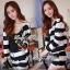 DS-PP-020 Lady Eva Chic Bold Striped Set thumbnail 2