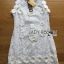 Lady Christine Little Daisy Embroidered White Lace Mini Dress L236-75C01 thumbnail 8