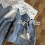 Lady Alexandra Minimal Chic Polka Dot Mini Dress =690.- บาท เดรสสั้น มินิเดรส เดรสน่ารัก ชุดเดรสสวยๆ แฟชั่นเกาหลีพร้อมส่ง เดรสสั้นเสื้อแขนยาวแบบเรียบๆกับกระโปรง Layer ลายจุด ตัวนี้เป็นลุคแบบเรียบๆในสไตล์ minimal แบบสาวเกาหลี เหมาะกับสาวที่ไม่ชอบแต่งตัวเยอ thumbnail 7