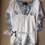 DR-LR-063 Lady Eliza Pretty Embroidered Brocade Kaftan Mini Dress thumbnail 15