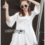 Lady Carly Sweet Vintage Embroidered and Laser-Cut with Sequins Cotton Top L258-6913 thumbnail 13