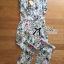 Lady Lilly Pastel Floral Printed Sleeveless Jumpsuit L151-75E09 thumbnail 5