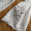 Lady Ashley Sweet Classic Lace Peplum Top in White L261-6909 thumbnail 15