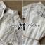 Lady Jennifer Sweet Button Down Organza Lace Dress L182-69C03 thumbnail 4