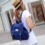 กระเป๋าเป้สไตล์เกาหลี &#x266B ้เป็นเป้ผ้าแคนวาส thumbnail 5