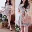 Lady Carley Sweet Blooming Bouquest Pastel Dress thumbnail 1