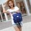 กระเป๋าเป้สไตล์เกาหลี &#x266B ้เป็นเป้ผ้าแคนวาส thumbnail 3