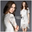 Lady Anna Classy Floral Studded Embellished Lace Dress L234-85C14 thumbnail 11