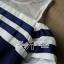 DR-LR-138 Lady Isla Glam Chic Navy Blue Striped Dress thumbnail 5