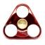HF096 Hand spinner - GYRO (ไจโร) -Fingertip Gyroscope โลหะ รุ่น Triangle สีแดง thumbnail 1