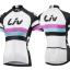 ชุดปั่นจักรยานผู้หญิง LIV White เสื้อปั่นจักรยาน พร้อมกางเกงปั่นจักรยาน thumbnail 2