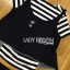 Lady Charlotte Striped Top with Ripped Tank Top and Shorts Set L263-8511 thumbnail 15