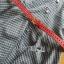 Lady Sara Minimal Asymmetric Grey Dress with Red Belt L250-69C09 thumbnail 12