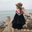 Set Pleat Koreastyle เสื้อ&กางเกง เชือกผูกคาดเอว ชายกระดก thumbnail 6