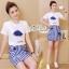 Set cartoon T-shirt embroidered skirt cute by Aris Code thumbnail 8