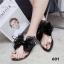 รองเท้าแตะทึ่สาวๆเห็นแล้วต้องเลิฟ สายคาดโบว์ใหญ่ thumbnail 7