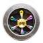HF219 Fidget spinner -Hand spinner - GYRO (ไจโร) โลหะ สีรุ้ง รุ่น Helm thumbnail 2